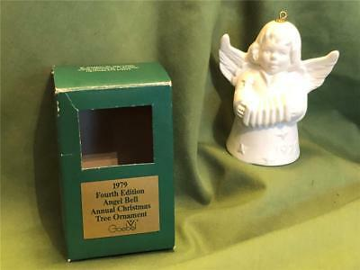 Vintage Goebel Hummel1979 Fourth Edition Angel Bell Christmas Tree Ornament