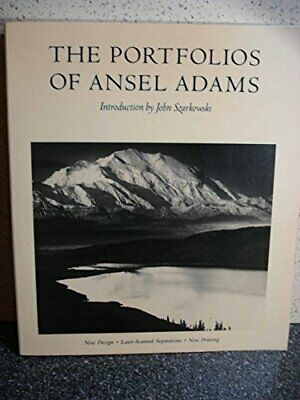 The Portfolios of  Ansel Adams   (A New York Graphic Society b... Paperback Book