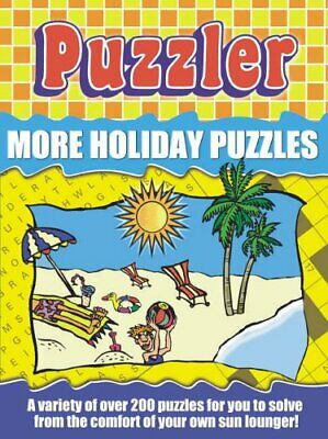 Puzzler More Holiday Puzzles by Puzzler Media Paperback Book The Cheap Fast Free