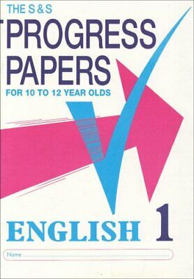 S and S Progress Papers: English 1: For 10 to 12 ... by Berry, Patrick Paperback