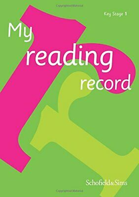 My Reading Record for Key Stage 1: KS1, Ages 5-7 by Schofield & Sims Book The