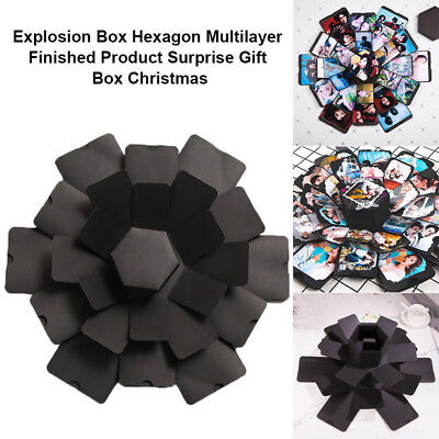 Explosion Box Multilayer Surprise DIY Photo Album Memory For Birthday Gifts AU