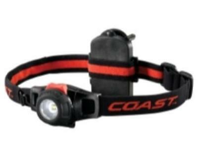 Coast COS19268 HL6 Dimming Headlamp with Adjustable Elastic Straps