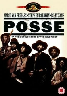 Posse [DVD] [1993] - DVD  8SVG The Cheap Fast Free Post