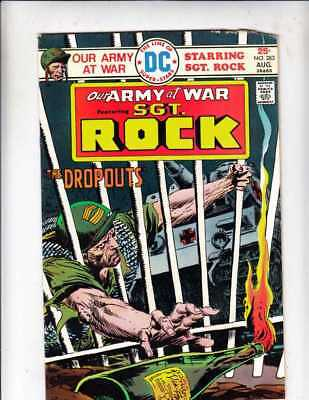 Our Army at War # 238 Strict FN/VF Artist Joe Kubert Content Scuba Diving story