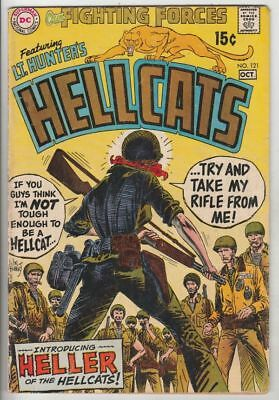 Our Fighting Forces # 121 Strict VG/FN 1st Appearance Heller female Hellcat