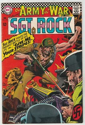 Our Army at War 176 Strict NM- Artist Joe Kubert Appearance Sgt.Rock & Easy Co.