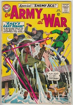 Our Army at War # 153 Strict VG Appearance 2nd Enemy Ace Wow