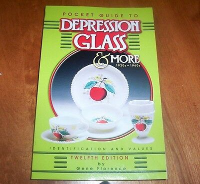 POCKET GUIDE TO DEPRESSION GLASS Antique Glasses Collector Collection Book NEW