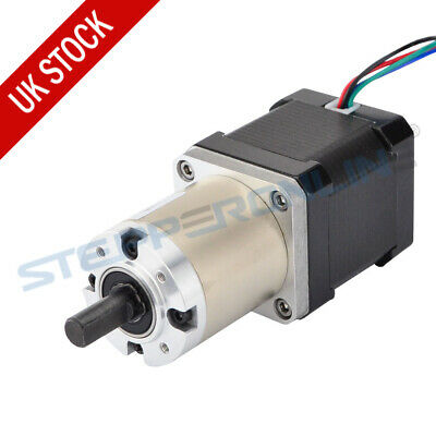 Extruder Gear Stepper Motor Ratio 51:1 Planetary Gearbox Nema 17 Stepper 1.68A