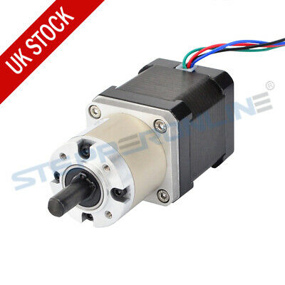 14:1 Planetary Gearbox High Torque Nema 17 Stepper Motor 1.68A 4-wire 3D Printer