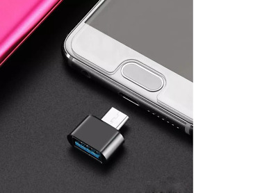 Hot USB-A Female To USB-C Male Adapter OTG USB 3.0 3.1 Compatible Converter