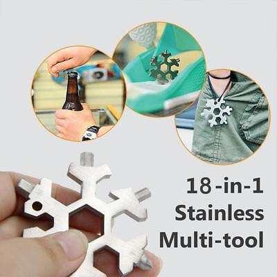 Amenitee 18-in-1 stainless steel snowflakes multi-tool Free Shipping Newest ! !