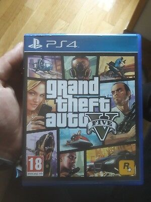 Grand Theft Auto 5 - GTA V - PS4