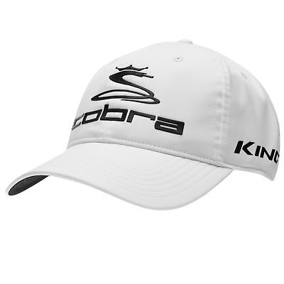 Cobra Mens Tour Golf Cap Breathable Lightweight Print Printed Ventilation