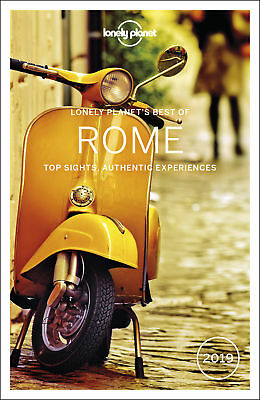 Lonely Planet Best of Rome 2019 Travel Guide 2018 BRAND NEW 9781786571649