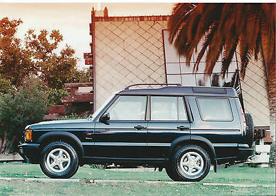Land Rover Discovery 1998 Original Press Photograph Side View Discovery 1?