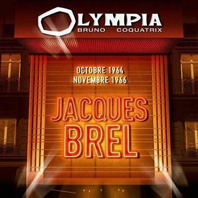 """CD """"Olympia 1964 & 1966"""" Jacques BREL   NEUF SOUS BLISTER"""
