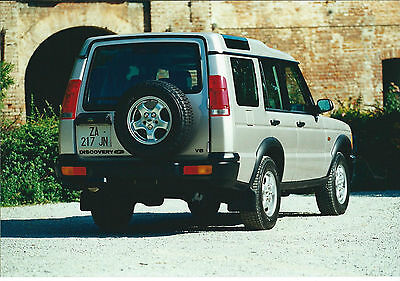 Land Rover Discovery 4.8 V8  Original Press Photograph x 2 Mint Condition