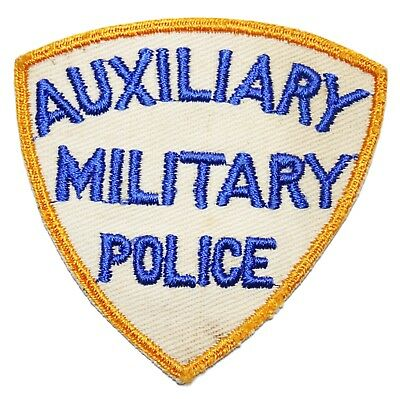 Original US WWII Auxiliary Military Police Shoulder Patch