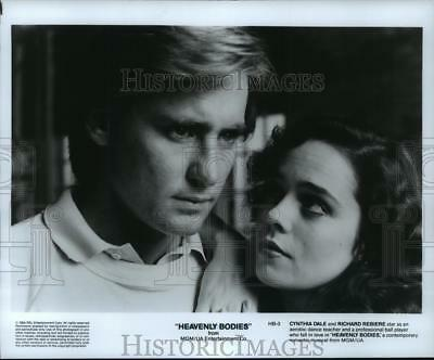 1984 Press Photo Cynthia Dale and Richard Rebiere star in Heavenly Bodies.