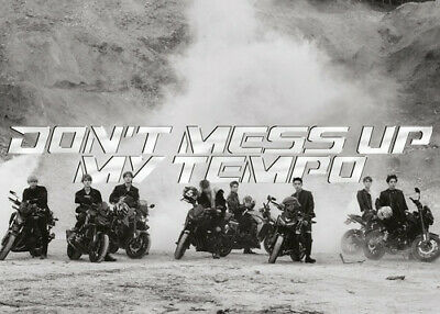 Exo The 5th Album 'Don't Mess Up My (Andante Ver.) - Exo (2018, CD NEUF)
