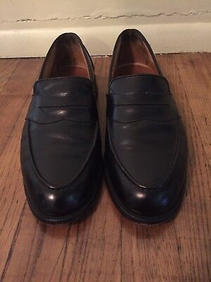 13a6f0e20d9 ALLEN EDMONDS RANDOLPH Black Leather Penny Loafer Shoes Mens Size 11 ...