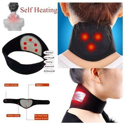 Self-heating Tourmaline Neck Brace Belt Magnetic Therapy Support Wrap Health
