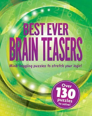 Best Ever Brain Teasers Book The Cheap Fast Free Post