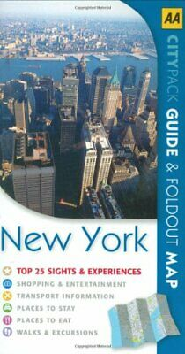 AA CityPack New York (AA CityPack Guides) by Sekules, Kate Paperback Book The