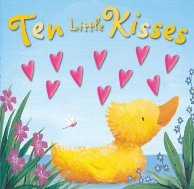 Ten Little Kisses (Moulded Counting Books) Book The Cheap Fast Free Post
