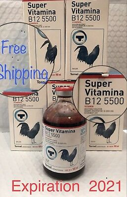 TORNEL - Super Vitamina B12 5500 100ml (EX: SEP/0ct 2021)