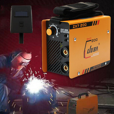 ZX7-200 MMA ARC Welder DC IGBT Welding Machine Soldering Inverter+Mask Kit TOP