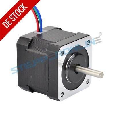 1PC Nema 17 Schrittmotor 45Ncm 2A 40mm 4-wire 1m Cable W/ Connector 3D Drucker