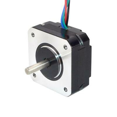 Short Body Nema 17 Stepper Motor (Schrittmotor) 1.8deg 13Ncm 1A 42x20mm 4-wire