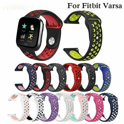 Sports Replacement Silicone Watch Band  Wrist Strap For Fitbit Versa Smart Watch