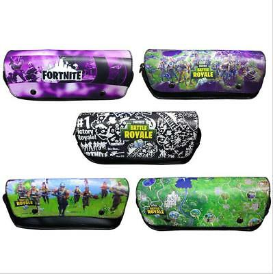 Game Fortinite Battle Royale PU Pencil Case Pen Stationery Bag School Supplies