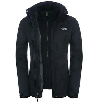 The North Face Evolve II Triclimate Chaqueta de Mujer 3 In 1 para Negro