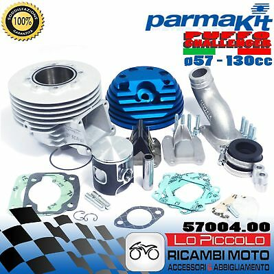 57004.00 CILINDRO 130cc  VESPA SPECIAL ø57 COLLET. ø25 PARMAKIT PUFFO CHALLENGER
