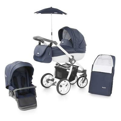 BabyStyle Prestige 2 Active Chassis Pram Package (Marlin) & Cosytoes - RRP £659