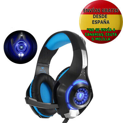 Beexcellent Gm-1 Auriculares Gaming Para Ps4 Pc Cascos Con Microfono Jack 3.5Mm