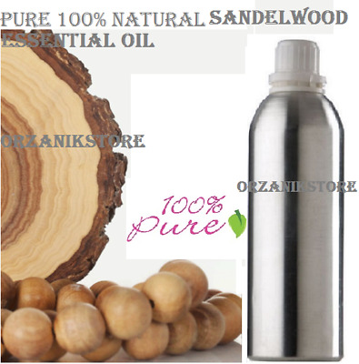 SandalWood Essential Oil Pure 100% Natural Therapeutic Aromatherapy 10 ml-500 ml