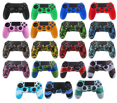 PS4 Controller Extra Grip Protective Silicone Rubber Case Cover Skin