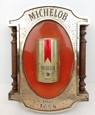MICHELOB Vintage Bar Tavern Beer 3D Advertising Promotional Sign Anheuser Busch