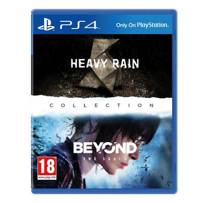 Heavy Rain & Beyond Two Souls Collection (UK Release) [M] (PS4)