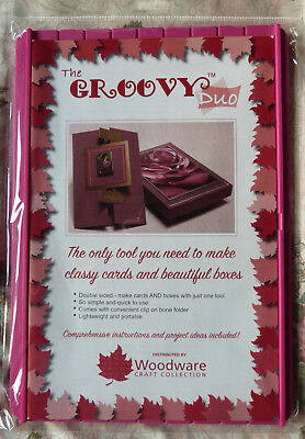 The Groovy Duo Card & Box Maker GROOVYDUO - DOUBLE SIDED + CREASER