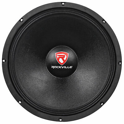 "Rockville RVW1500P8 1500w 15"" Raw DJ Subwoofer 8 Ohm Sub Woofer 70OZ Magnet"