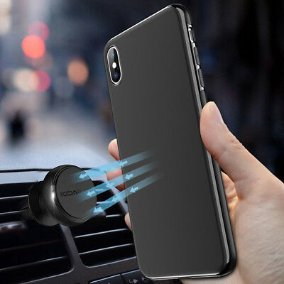 the latest cc0d4 05624 CAR ACCESSORIES MAGNETIC For iphone XR XS Max X 8 7 Soft Phone Case Cover