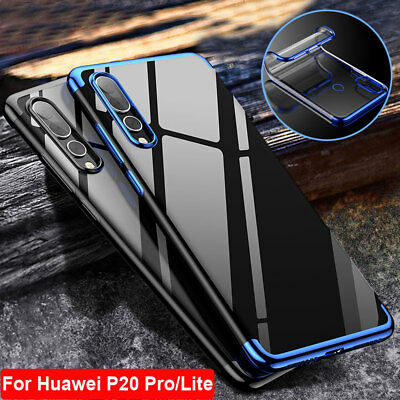 Shockproof Hybrid Tranparent For Huawei P20 Pro Lite Silicone Bumper Case Cover