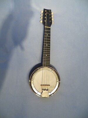 British made banjo mandolin in good, sound, playable condition